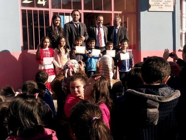 Yarıyıl Karne Töreninde Çatak Okulunda neler oldu?