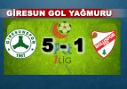 Giresunspor'dan Gol Yağmuru