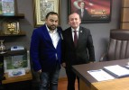 Hüseyin Öztürk' Ankara'daydı.