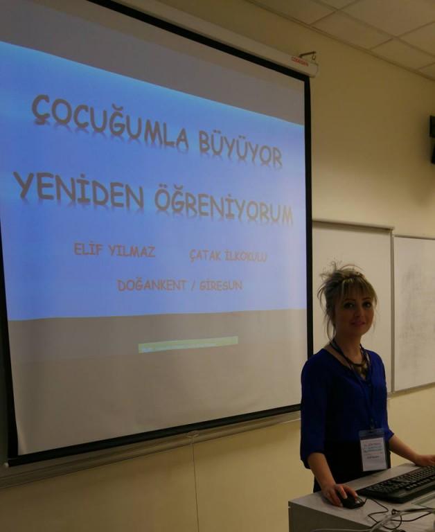 Elif YILMAZ Sabancı Üniversitesi'nde