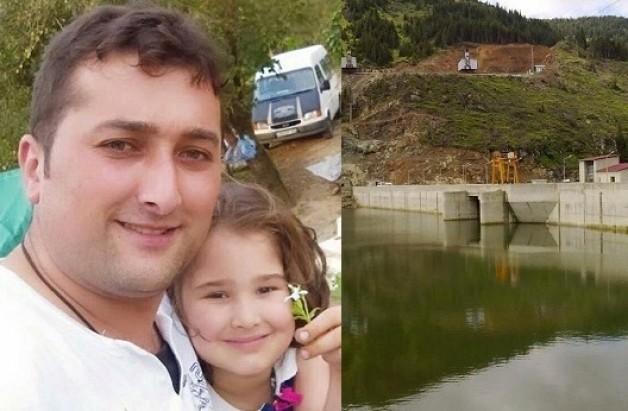 Özel güvenlik görevlisi Yayla Barajında ayağından yaralandı.