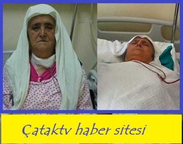 Selime (Emine) TOPAR  hastaneden taburcu oluyor.