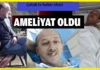 Sarı Osman'ın sağlık durumu iyi. İlk müdahaleyi köy muhtarı yaptı.