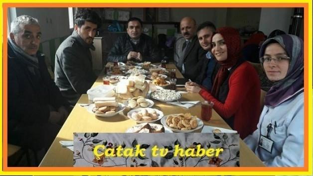 Köyümüzdeki Dikiş Nakış kursunu ziyaret ettiler.