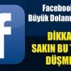 Facebook Dolandırıcılarına Dikkat !!!