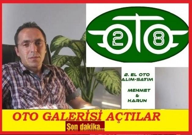 OTO GALERİ AÇTILAR…