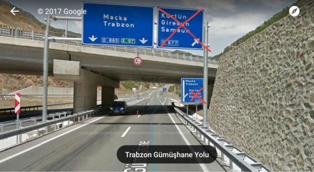 Torul Tirebolu yolu Gizli yol oldu