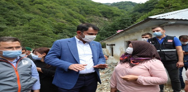 Bakan Kurum'dan Çatak Tv Habere açıklama