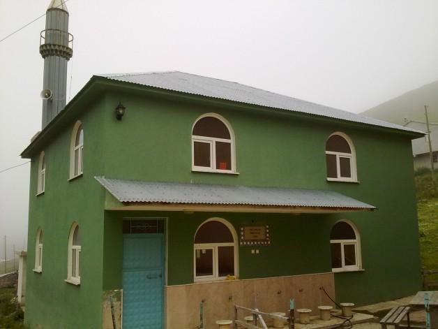 İmam evi inşaatı başlamadan bitti.