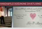 Hamza ve Filiz Evleniyor.