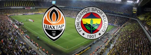 Shakhtar Donetsk-Fenerbahçe Rövanş Maçı