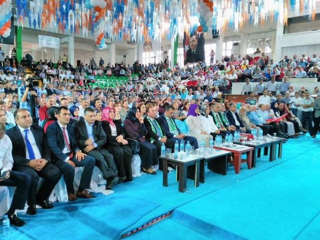Ak Parti Aday Tanıtım toplantısı yapıldı.