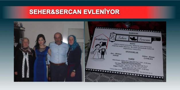 Ömero Mehmet'in Kızı evleniyor.
