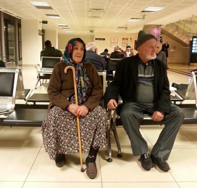 Tedavi için İstanbul'a gidiyor…