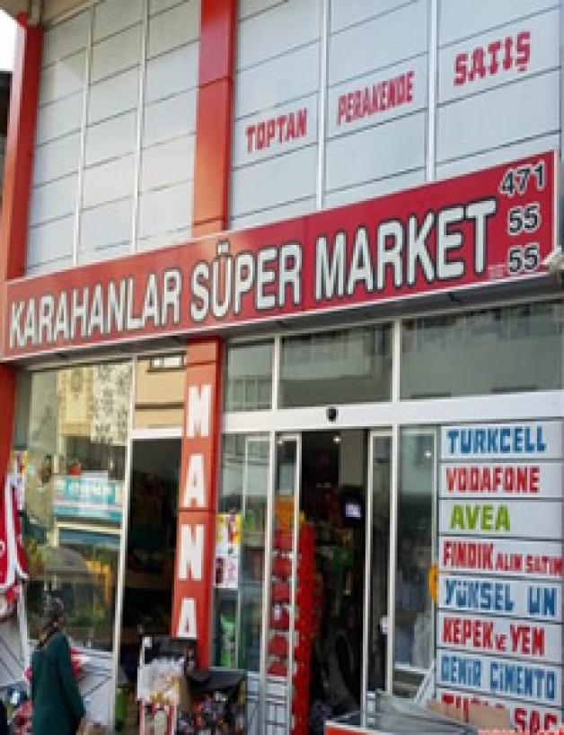 karahanlar süper market