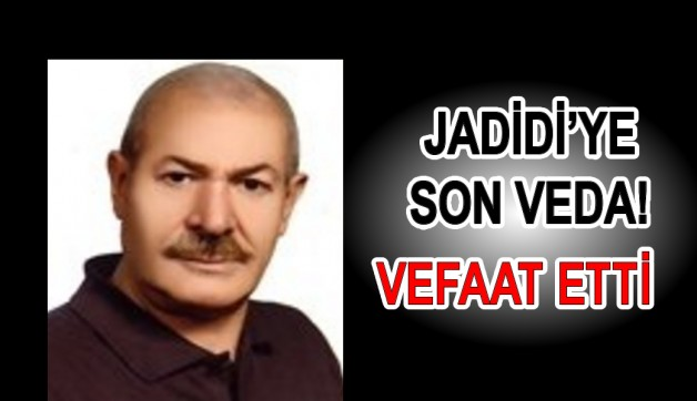 Ünlü doktor Jadidi'den acı haber