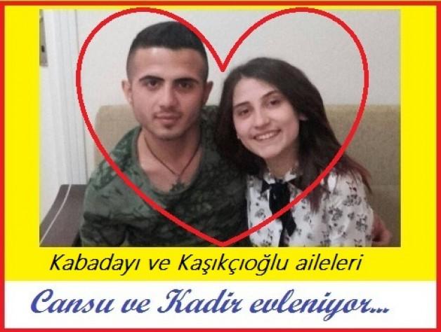 Cansu ile Kadir, hafta sonu hayatlarını birleştiriyorlar. 29.05.2016