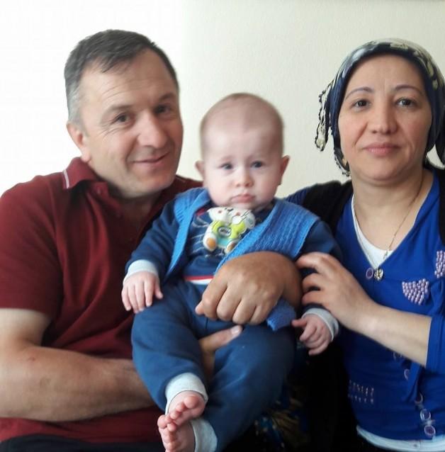Yusuf ve Zehra Topar hastanede
