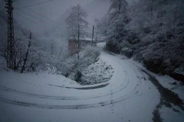 Çatak Köyünde Eğitime Kar engeli