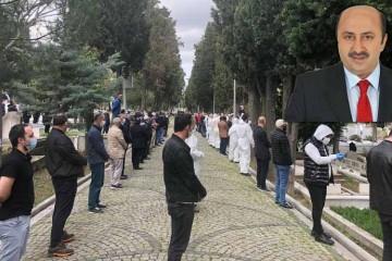 Ömer Döngeloğlu son yolculuğuna uğurlandı.