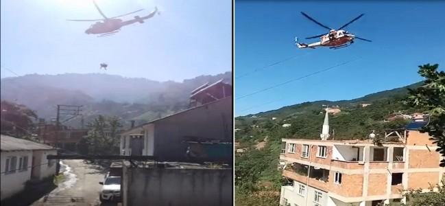 Ambulans Helikopter, Çatak Köyünde