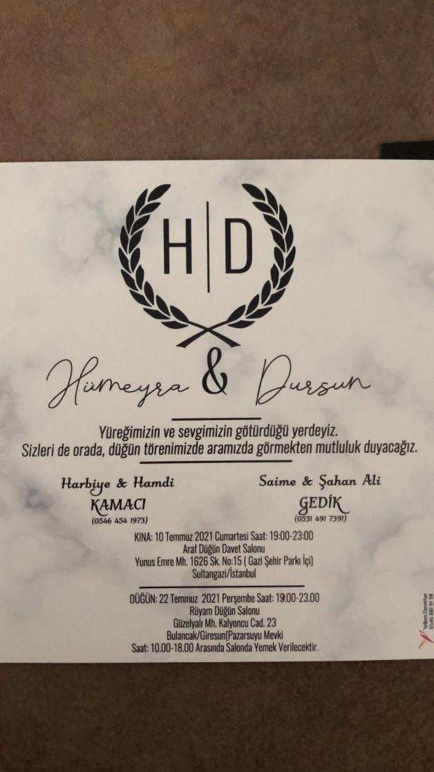 Hümeyra &Dursun